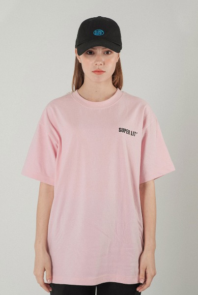 'LIVE' pink  T-shirts