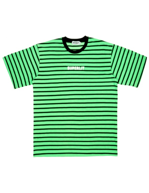 SUPERLIT STRIPE T-Shirts 그린
