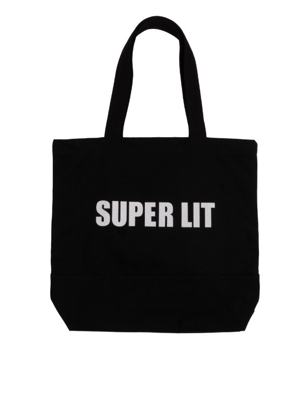 SUPERLIT LOGO ECO BAG 블랙