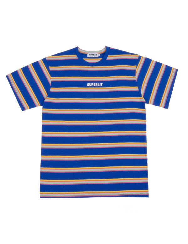 5 Stripe T-shirts 블루