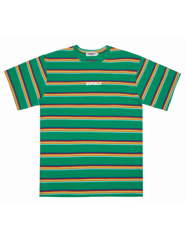 5 Stripe T-shirts 그린