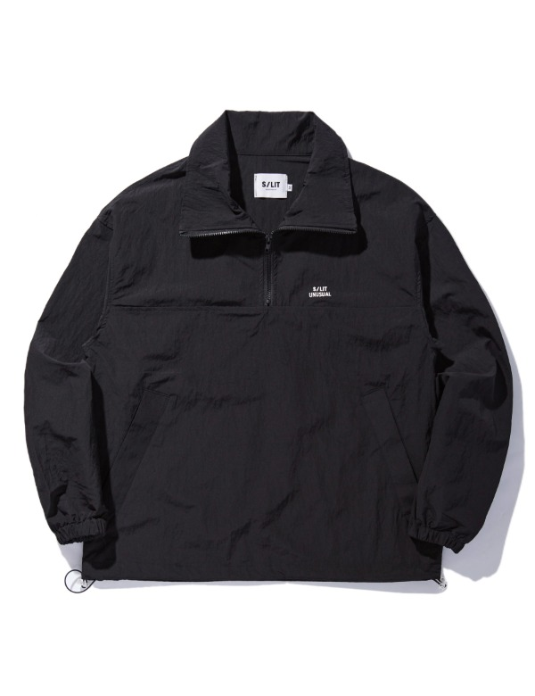 Unusual anorak jacket 블랙
