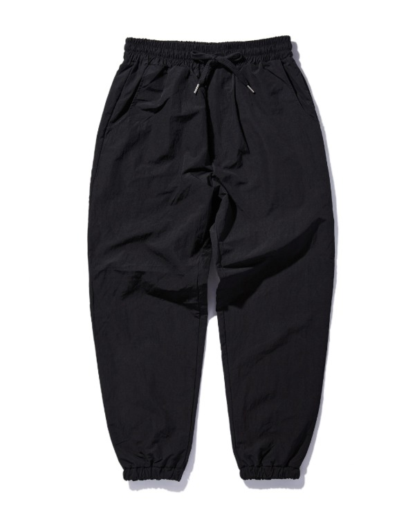 Basic Nylon pants 블랙