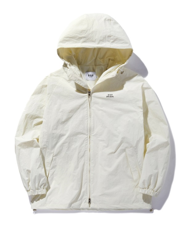 Unusual Wind Breaker Jacket 아이보리