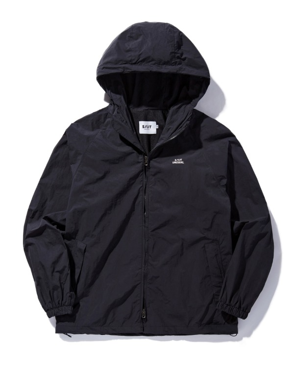Unusual Wind Breaker Jacket 블랙