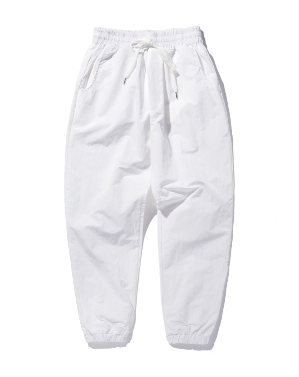 Basic Nylon pants 화이트