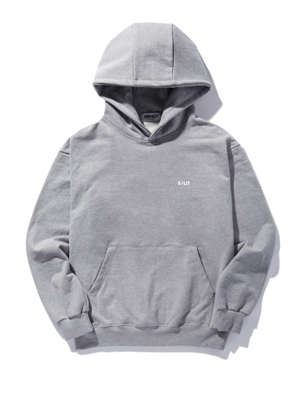 S/LIT Logo Hooded Sweatshirt 멜란지