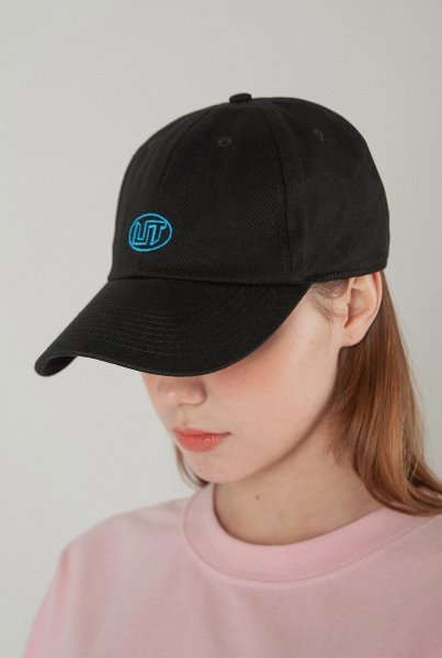 'LIT' logo ball cap black
