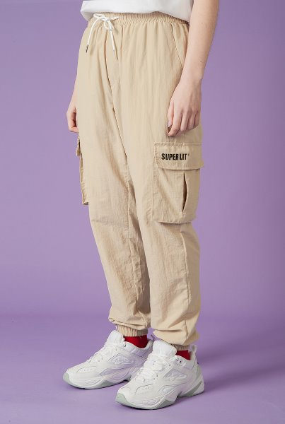 CARGO JOGGER PANTS 베이지