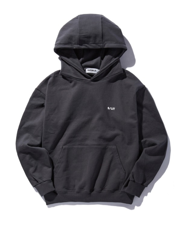 S/LIT Logo Hooded Sweatshirt 챠콜
