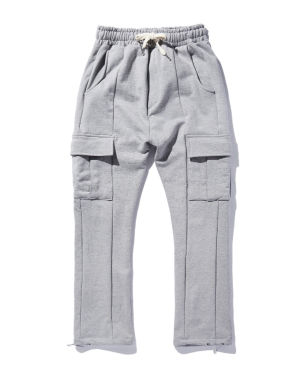 포켓 Jogger Sweat Pants 멜란지